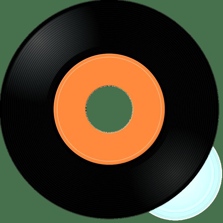 Free vector graphic record vinyl jukebox disc music