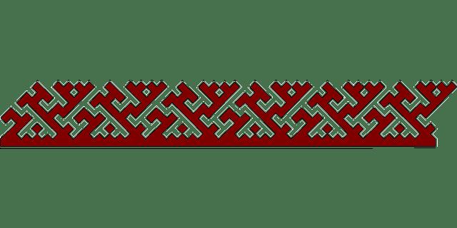 Fall Leaves Wallpaper Border Border Pattern Geometric 183 Free Vector Graphic On Pixabay