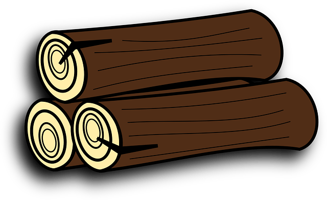 Holzstapel Clipart Firewood Tree Trunk · Free Vector Graphic On Pixabay