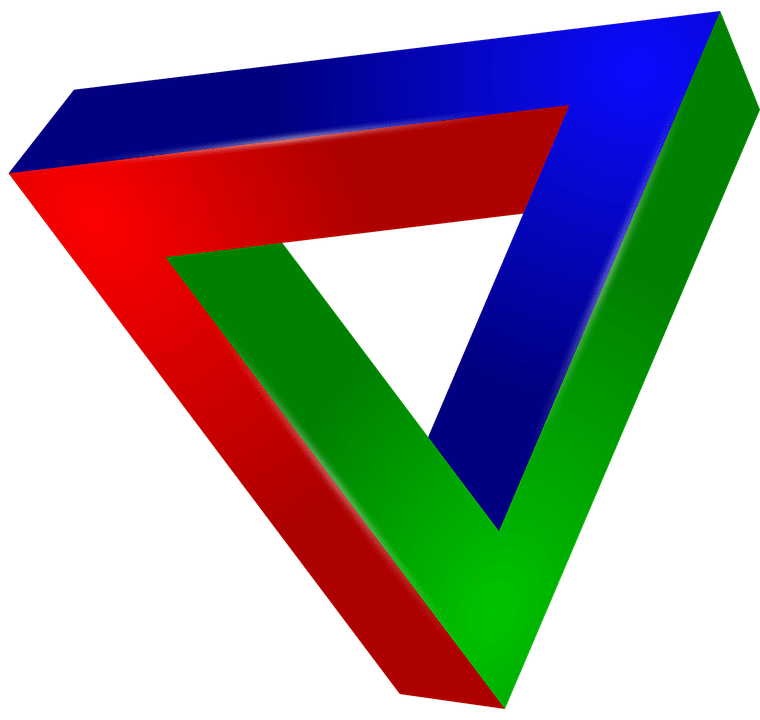 3d Animation Animals Wallpaper Free Vector Graphic Red Eye Green Blue Triangle