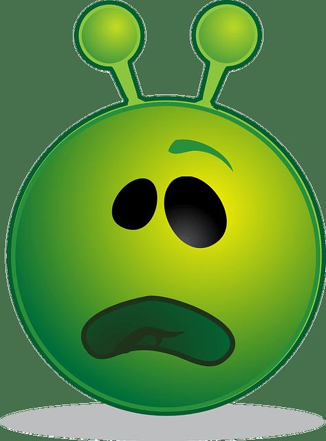 Cute Pug Wallpaper Cartoon Alien Smiley Emoji 183 Free Vector Graphic On Pixabay
