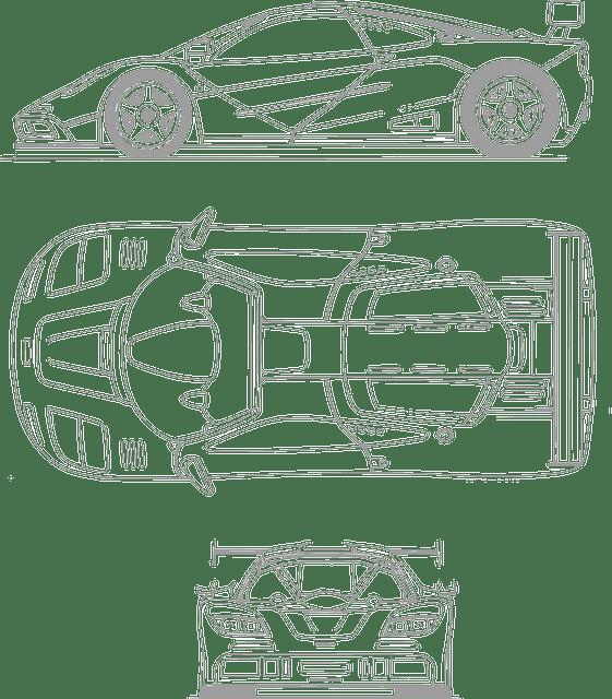 plan moteur ferrari