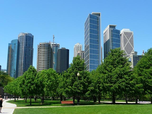 Skyscraper Wallpaper Hd Free Photo Chicago Skyline Skyscraper Free Image On