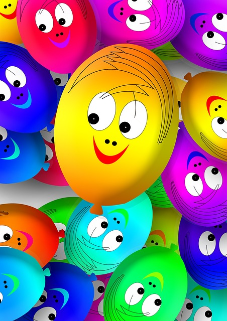 Lion Animal Wallpaper 3d Free Illustration Faces Ballons Balloons Smilie Free