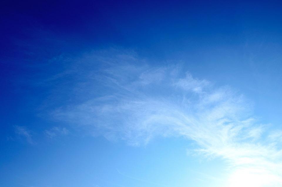 Azul Nubes Cielo De · Foto gratis en Pixabay - fondo nubes