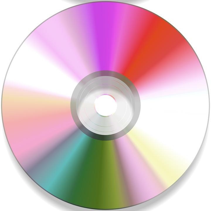 Cd Disc Colorful - Free image on Pixabay