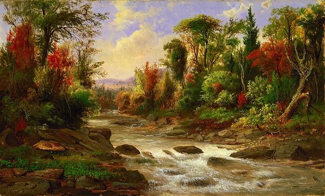 Water Falling Live Wallpaper Download Free Photo Robert Duncanson Landscape Art Free Image