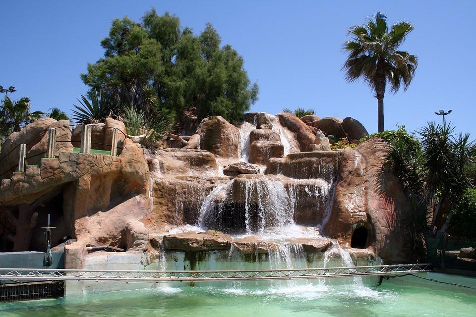 Fall Waterfall Wallpaper Hd Kostenloses Foto Mallorca Wasserfall Felsen