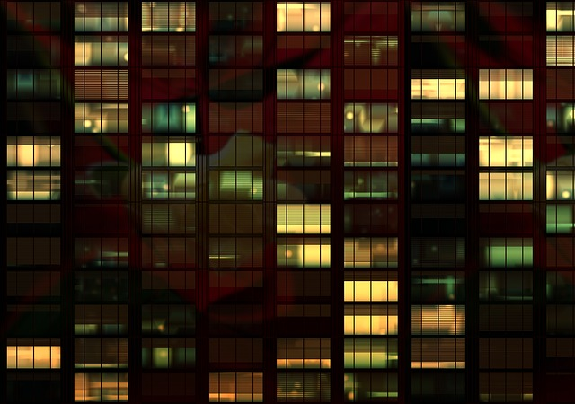 Lost Girl Wallpaper Hd Free Photo Office Office Building Night Free Image On