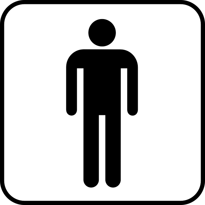 Wc Symbol Toilet Men Man · Free Vector Graphic On Pixabay