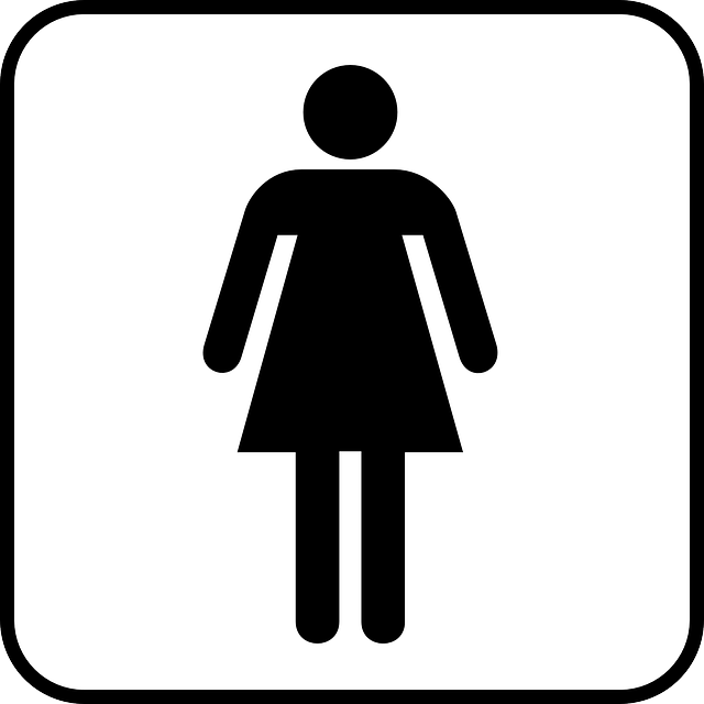 Wc Symbol Free Vector Graphic: Woman, Women, Wc, Toilet, Sign - Free