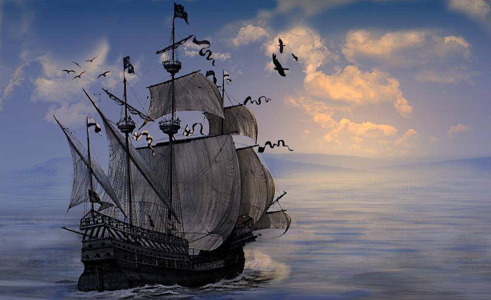 Pirate Wallpaper Quote Kostenlose Illustration Schiff K 252 Ste Wasser Ozean