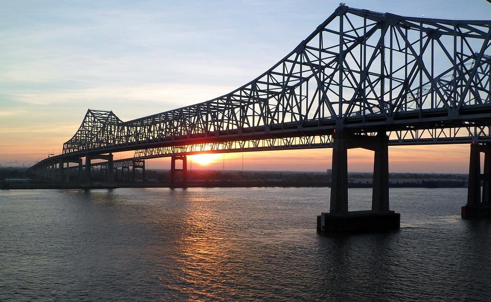 Blue Wallpaper Hd Download Kostenloses Foto Mississippi Br 252 Cke Sonnenaufgang