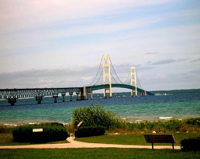 Travel Vacation Free Photo: Mackinac, Mackinac Bridge - Free Image On