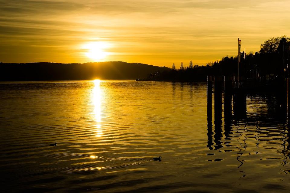 Beautiful Winter Wallpapers Hd Free Photo Sunset Yellow Sun Cloud Free Image On