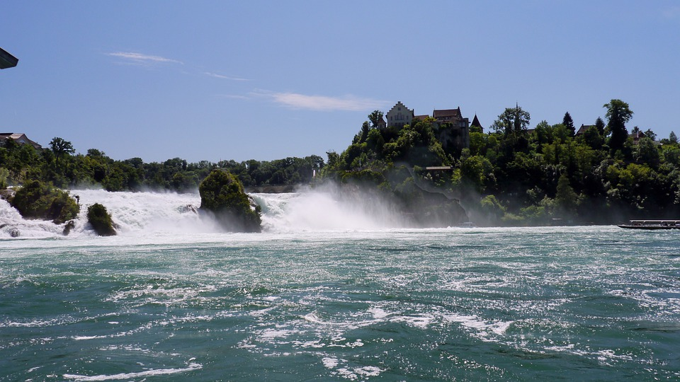 Niagara Falls Wallpaper Free Download Schaffhausen Rhine Falls 183 Free Photo On Pixabay