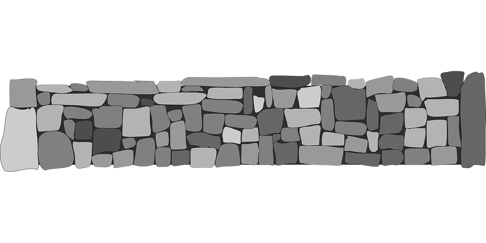 3d Grey Brick Effect Wallpaper Stones Walls Fences 183 Free Vector Graphic On Pixabay