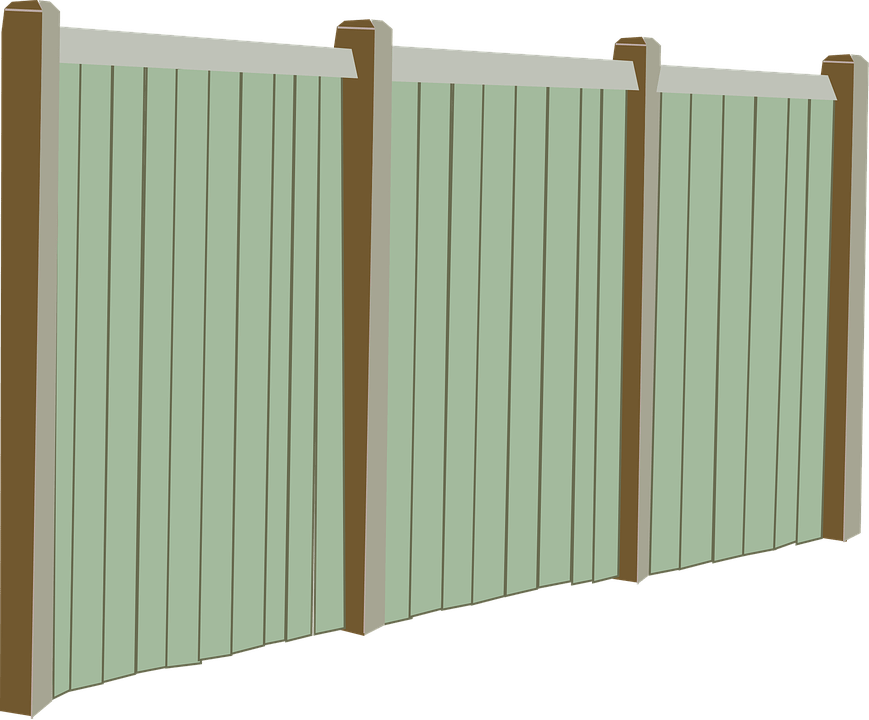 Fall Winter Wallpaper Fence Fencing Perspective 183 Free Vector Graphic On Pixabay