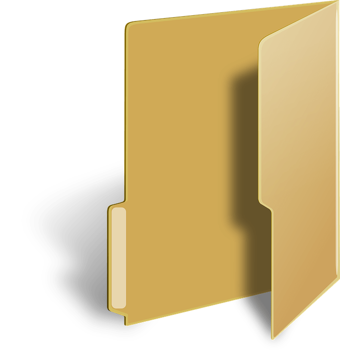 3d Wallpaper For Desktop Icon Windows Vista Folder Directory 183 Free Vector Graphic On