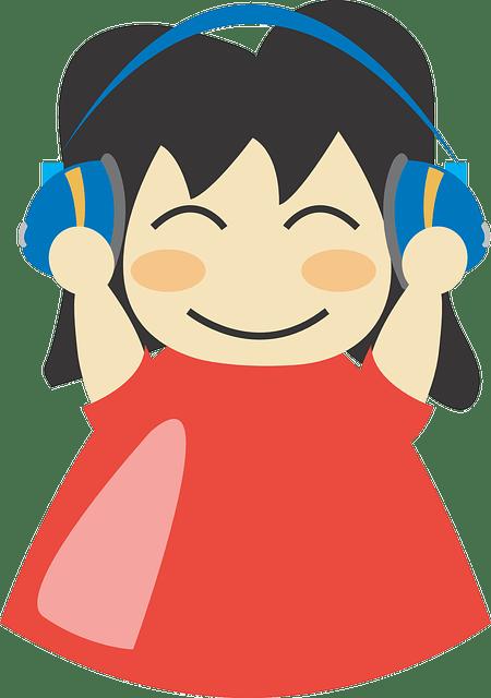 Smart Girl Wallpaper Free Download Earphones Girl Happy 183 Free Vector Graphic On Pixabay