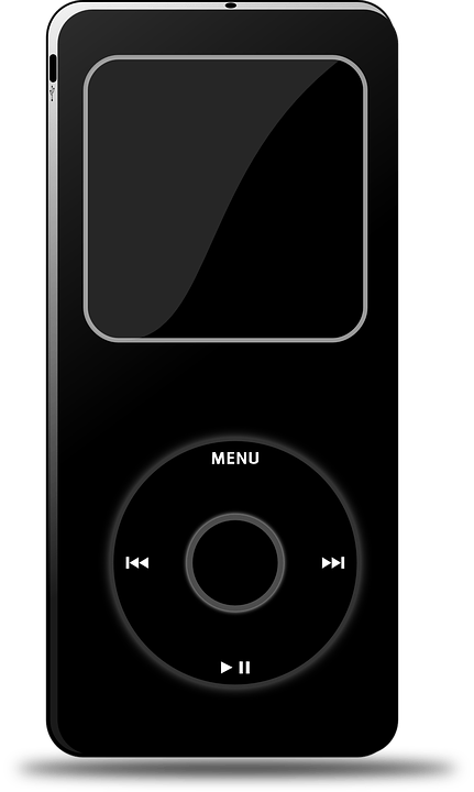 Black And White And Red Wallpaper Free Vector Graphic Mp3 Player Ipod Mp3 Music Songs