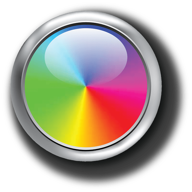 Wallpaper Hd Floral Free Vector Graphic Colors Chromatic Circle Red Free