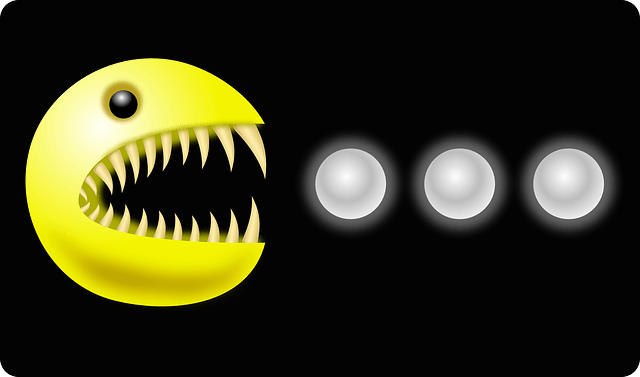 Game Cute Wallpaper Monster Teeth Pacman 183 Free Vector Graphic On Pixabay