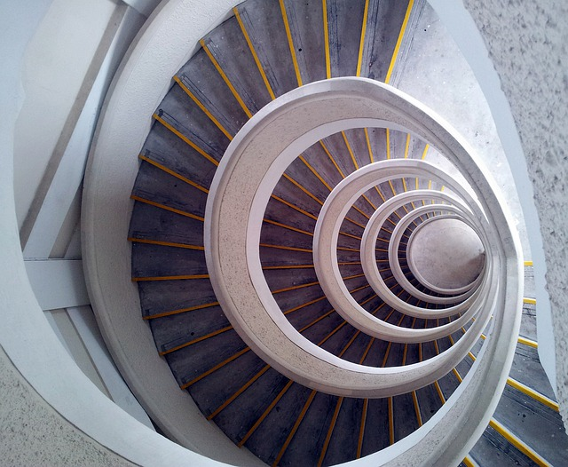 Spiral Wallpaper 3d Staircase Spiral Tower 183 Free Photo On Pixabay