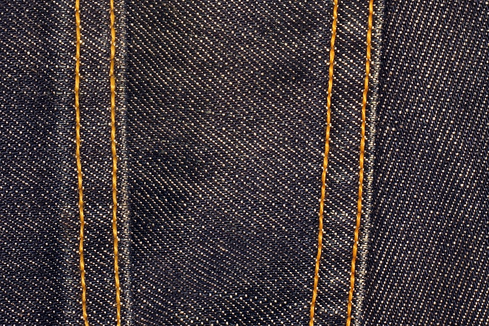 Black And Grey Wallpaper Free Photo Denim Fabric Texture Blue Free Image On
