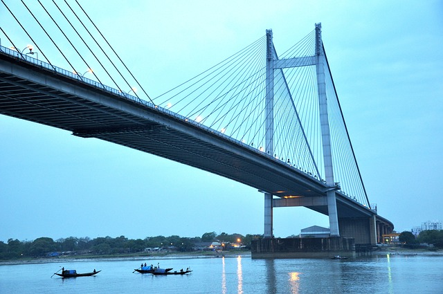 Wallpaper Country Girl Bridge Calcutta Kolkata 183 Free Photo On Pixabay