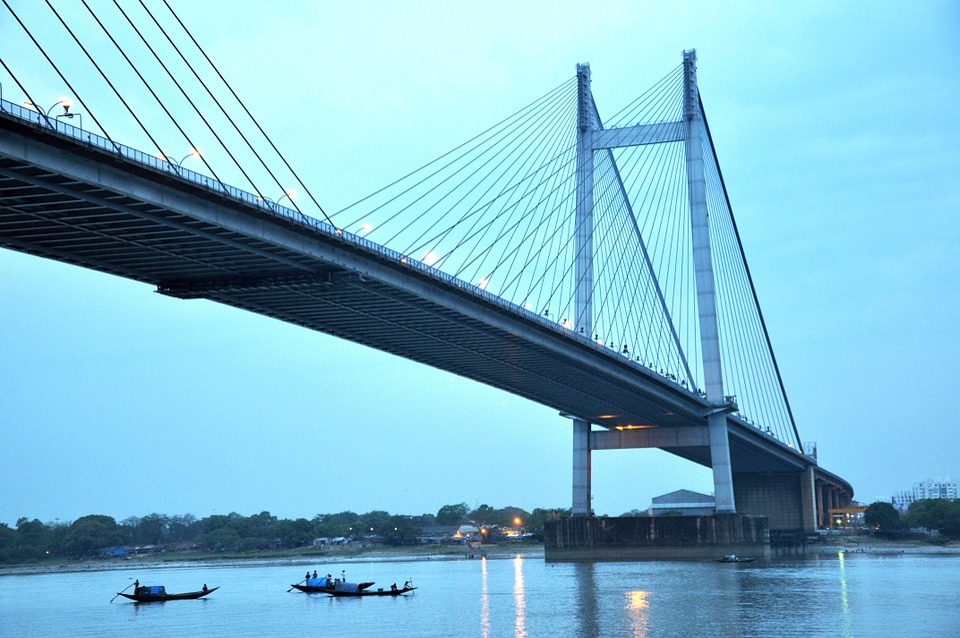 Hd Wallpaper 4k Girl Bridge Calcutta Kolkata 183 Free Photo On Pixabay