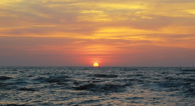 Wallpaper Milky Way Hd Sunset Ocean Sky 183 Free Photo On Pixabay