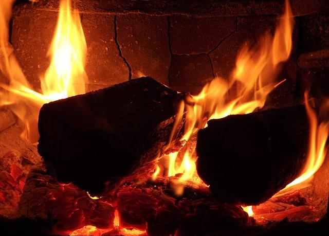 Black Wood Wallpaper Free Photo Fire Flame Wood Fire Light Bulb Free