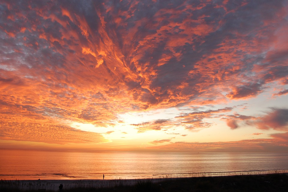 Animation Wallpaper Hd Free Download Free Photo Sunset Florida Clouds Sky Ocean Free