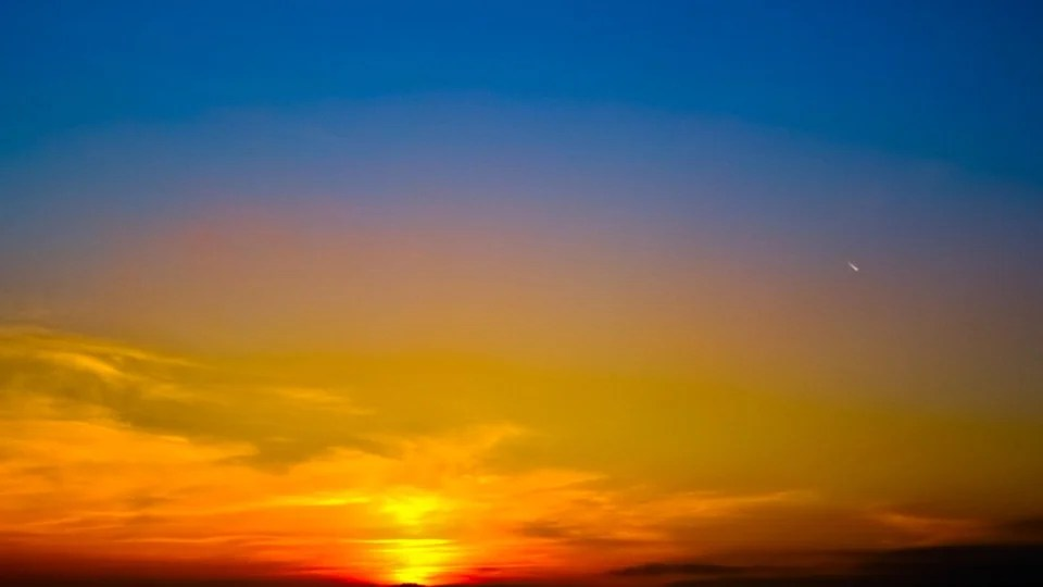 Beauty Girl Hd Wallpaper Download Free Photo Sunset Sky Clouds Sun Afterglow Free
