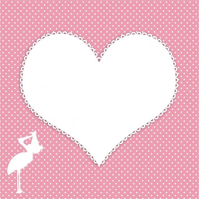 Girl Baby Shower Wallpaper Free Illustration Stork Baby Girl Baby Girl White