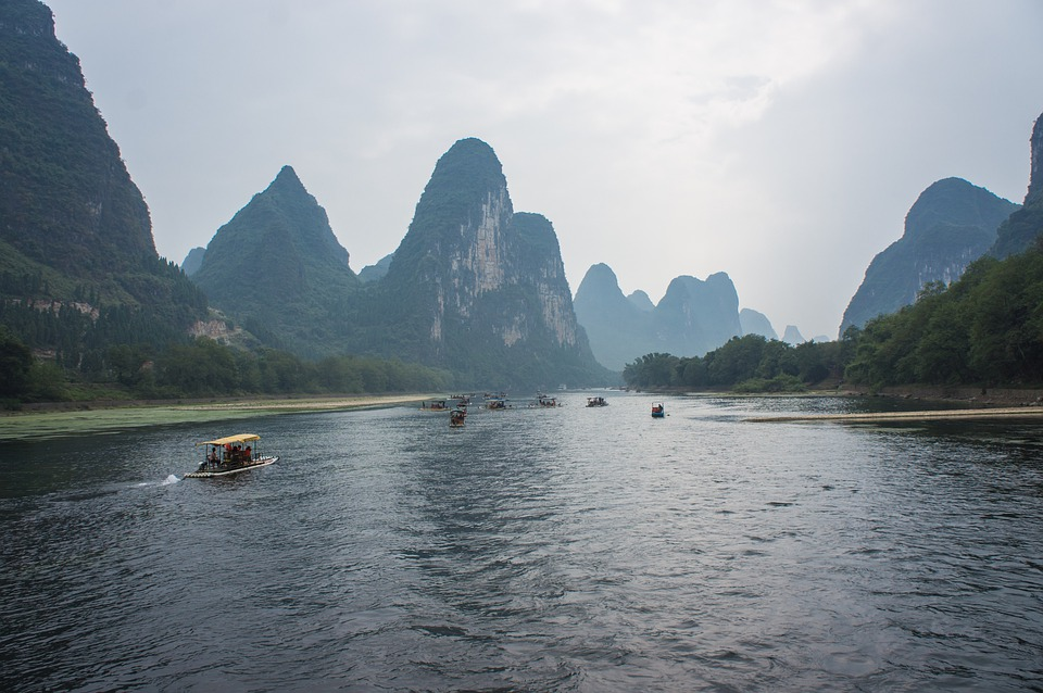 Black And White Rose Wallpaper Free Photo China Giulin Li River Free Image On