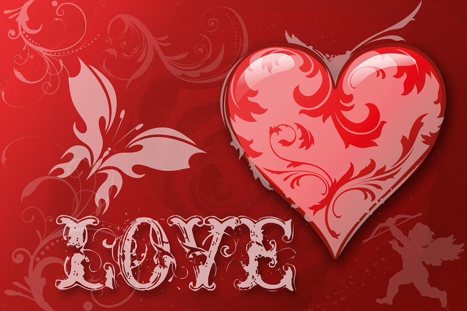 Download Romantic Quotes Wallpapers Free Illustration Heart Love Luck Abstract Free