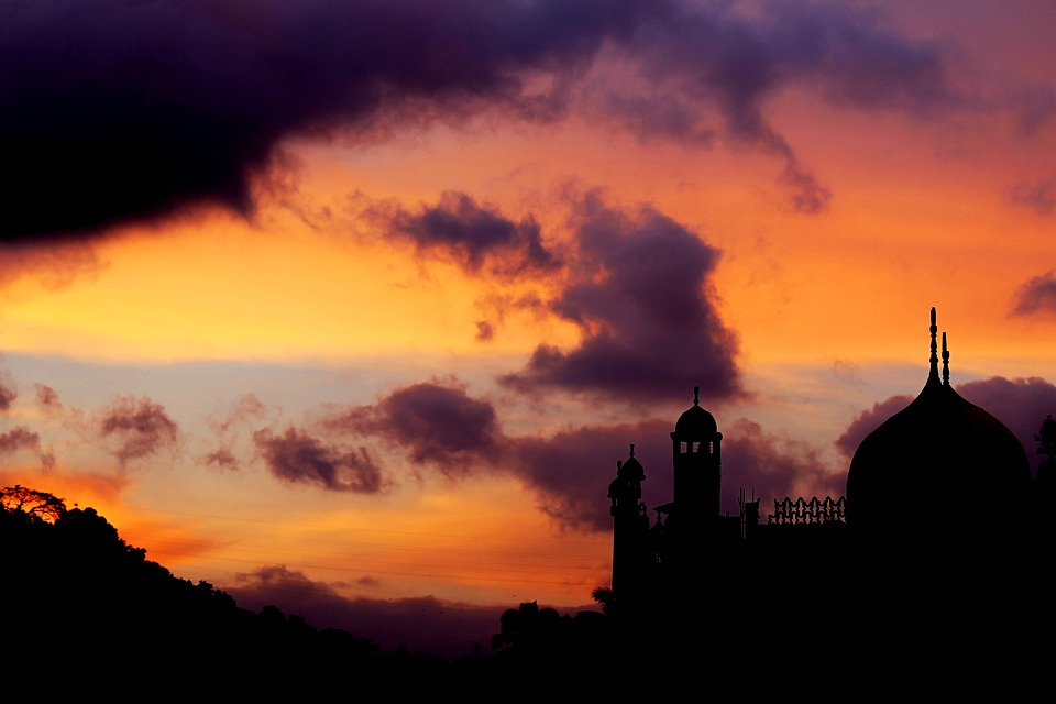 Computer Wallpaper Quote City Free Photo Mosque Sunset Landscape Free Image On