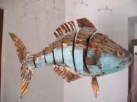 Free photo: Fish, Artwork, Sheet, Metal - Free Image on ...