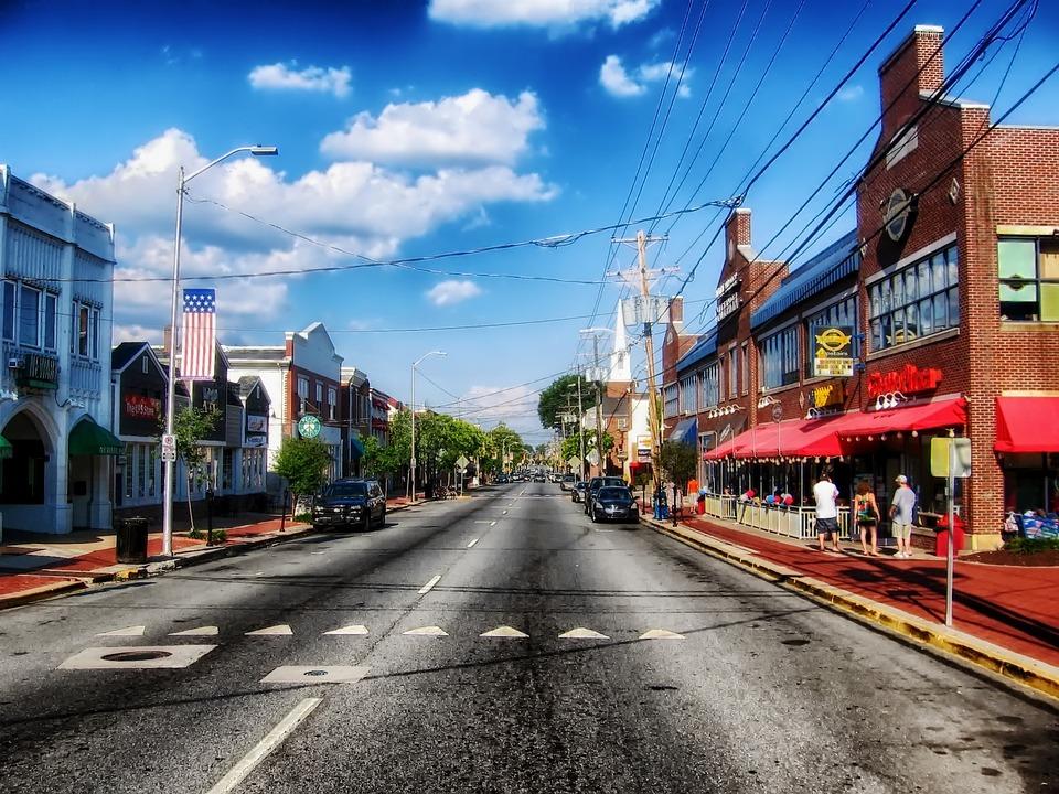 Urban Wallpaper Hd Newark Delaware Town 183 Free Photo On Pixabay