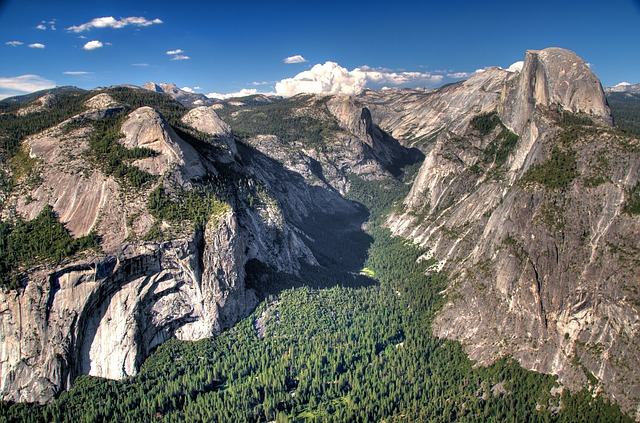 3d Tunnel Wallpaper Yosemite Mountains Half Dome 183 Free Photo On Pixabay
