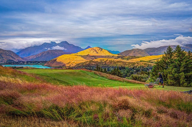 Fall Mountains In The Sun Wallpaper New Zealand Glenorchy Hdr 183 Free Photo On Pixabay