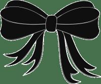 Free vector graphic: Bow Tie, Black, Ribbon, Elegant ...