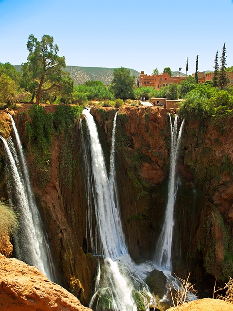 Fall Autumn Wallpaper Free Ouzoud Morocco Falls 183 Free Photo On Pixabay