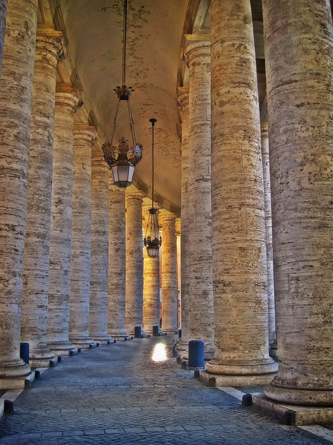 Creative Hd Wallpapers Free Download Free Photo Bernini S Colonnade St Free Image On