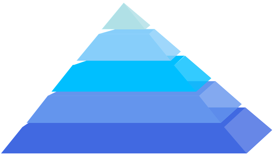 3d Pyramid Wallpaper Pyramids Layers Blue 183 Free Vector Graphic On Pixabay
