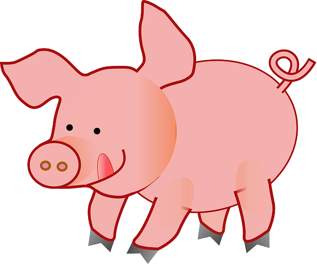 Cute Baby Pig Wallpaper Pig Cute Tongue 183 Free Vector Graphic On Pixabay