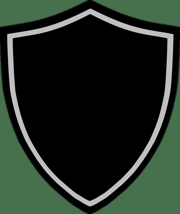 Wallpaper Teknologi 3d Gambar Vektor Gratis Perisai Lencana Logo Simbol