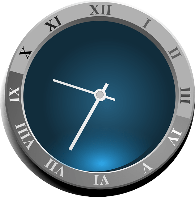 Cute Wallpapers On Computer Free Vector Graphic Clock Roman Numerals Time Roman